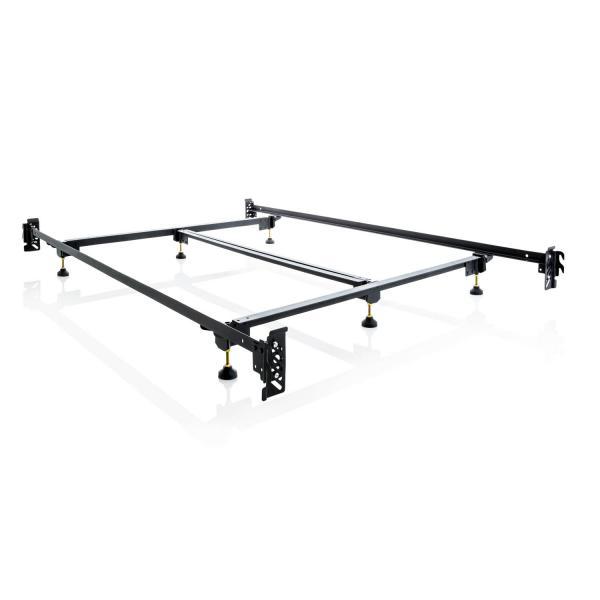 Steelock® Hook-In Headboard Footboard Bed Frame: Oklahoma Mattress ...